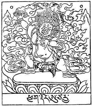 134. Vajrapâṇi Âcârya (tib. P'yag-rdor a-tsa-rya).