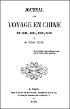 Maurice d'Irisson (1839-1893) : Journal d'un interprète en Chine Ollendorf, Paris, 1886.