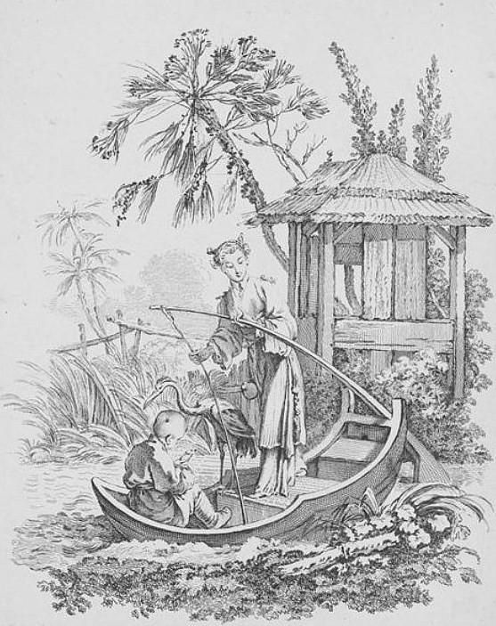 Huquier. Cormoran. Hélène Belevitch-Stankevitch : Le goût chinois en France au temps de Louis XIV. — Jouve et Cie, Paris, 1910.