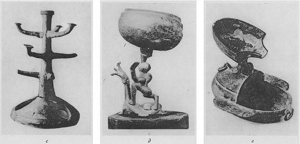 Lampes. Henri Maspero (1883-1945) : La vie privée en Chine à l'époque des Han. — Conférence au musée Guimet, le 29 mars 1931. Parution dans la Revue des Arts Asiatiques, Paris, 1932, tome VII, pages 185-201.