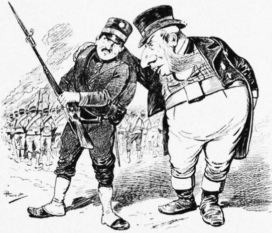 John Bull. John Grand-Carteret (1850-1927) : Chinois d'Europe et Chinois d'Asie. 175 images satiriques, pour servir à l'histoire des chinoiseries de la politique européenne de 1842 à 1900.