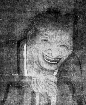 Portrait de l'ermite Han chan, par Yen Houei