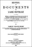 Histoire de l'insurrection des Tounganes sous le règne de Tao kouang̃ (1820-1828). in Recueil de documents sur l'Asie centrale.  Ernest Leroux, Paris, 1881.