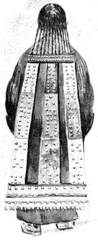 Tchoukti, parure de femme thibétaine