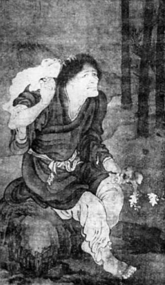 Portrait d'ermite, par Yen Houei