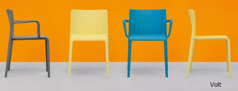 Volt silla sillón polipropileno Pedrali