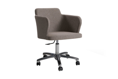 Evia GB sillón moderno tapizado base de oficina doos