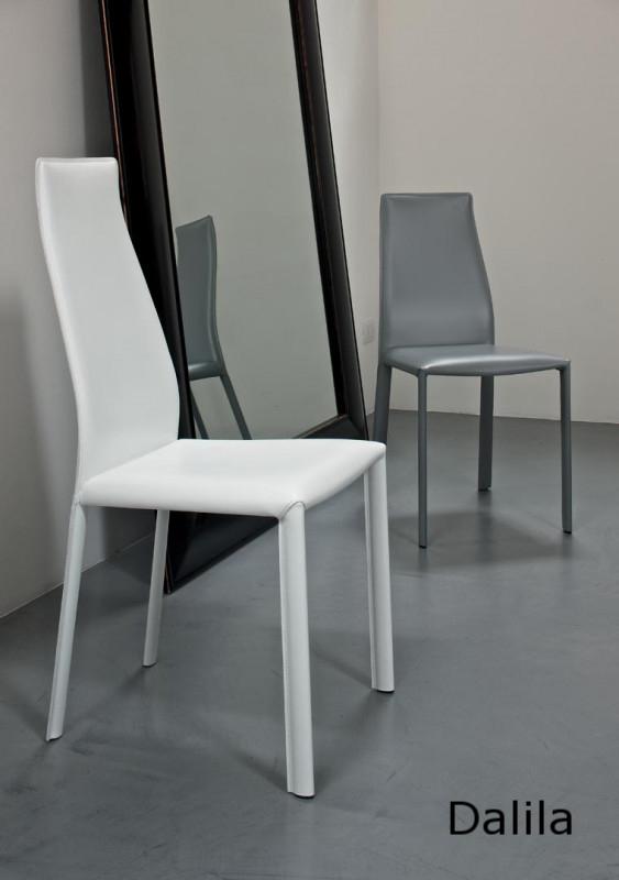 Comprar silla de comedor de diseño italiano tapizada Dalila Bonaldo Barcelona La Cadira