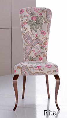 Rita silla de comedor clásica modesto navarro moderna