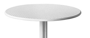 mesa para exterior enplastificado nardi