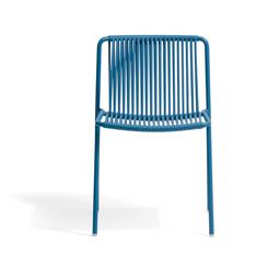 Tribeca 3660 Pedrali silla de exterior terraza cuerda y acero