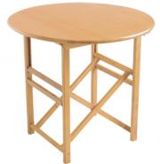 mesa plegable menorca redonda de exterior