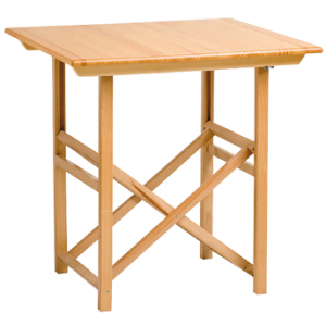 Mesa plegable menorquina