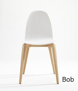 Bob madera  silla comedor diseño sillon moderno   madera tapizada ondarreta  Barcelona lacadira.com