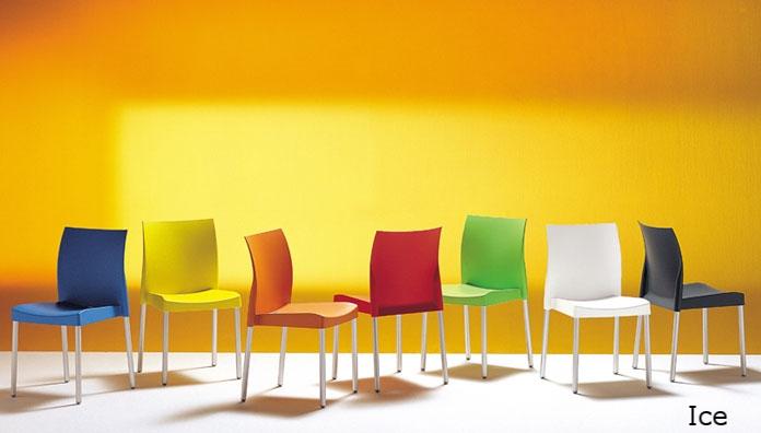 Ice 800 pedrali silla moderna de jardín