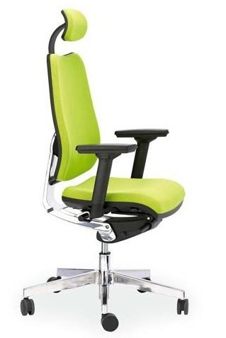 Cronos silla de oficina dirección con reposacabezas hergo www.lacadira.com