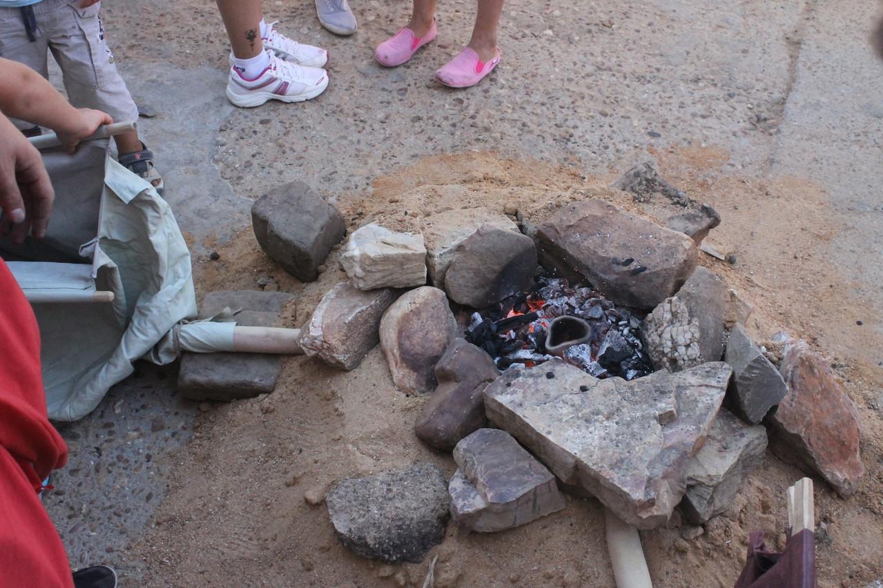 El horno metalúrgico