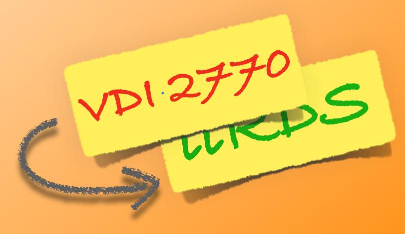 Das eine tun ohne das Andere zu lassen: Richtlinie VDI 2770 und iiRDS