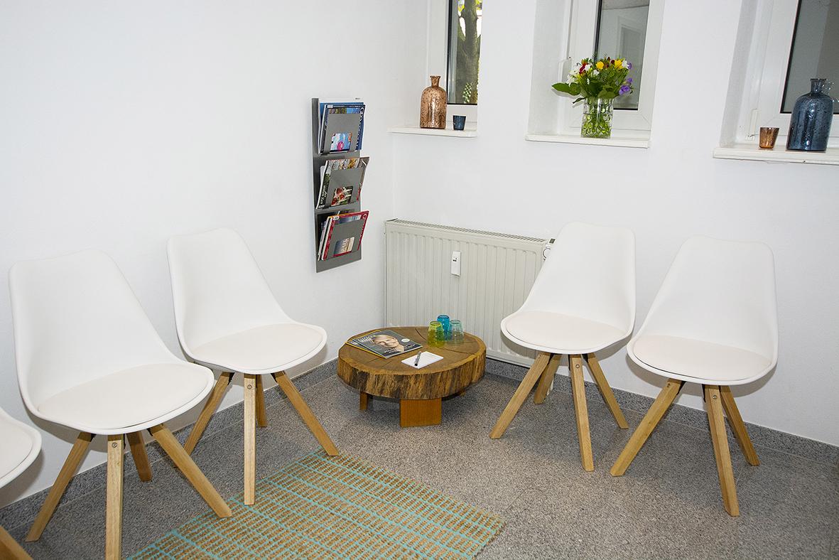 Wartebereich Erdgeschoss