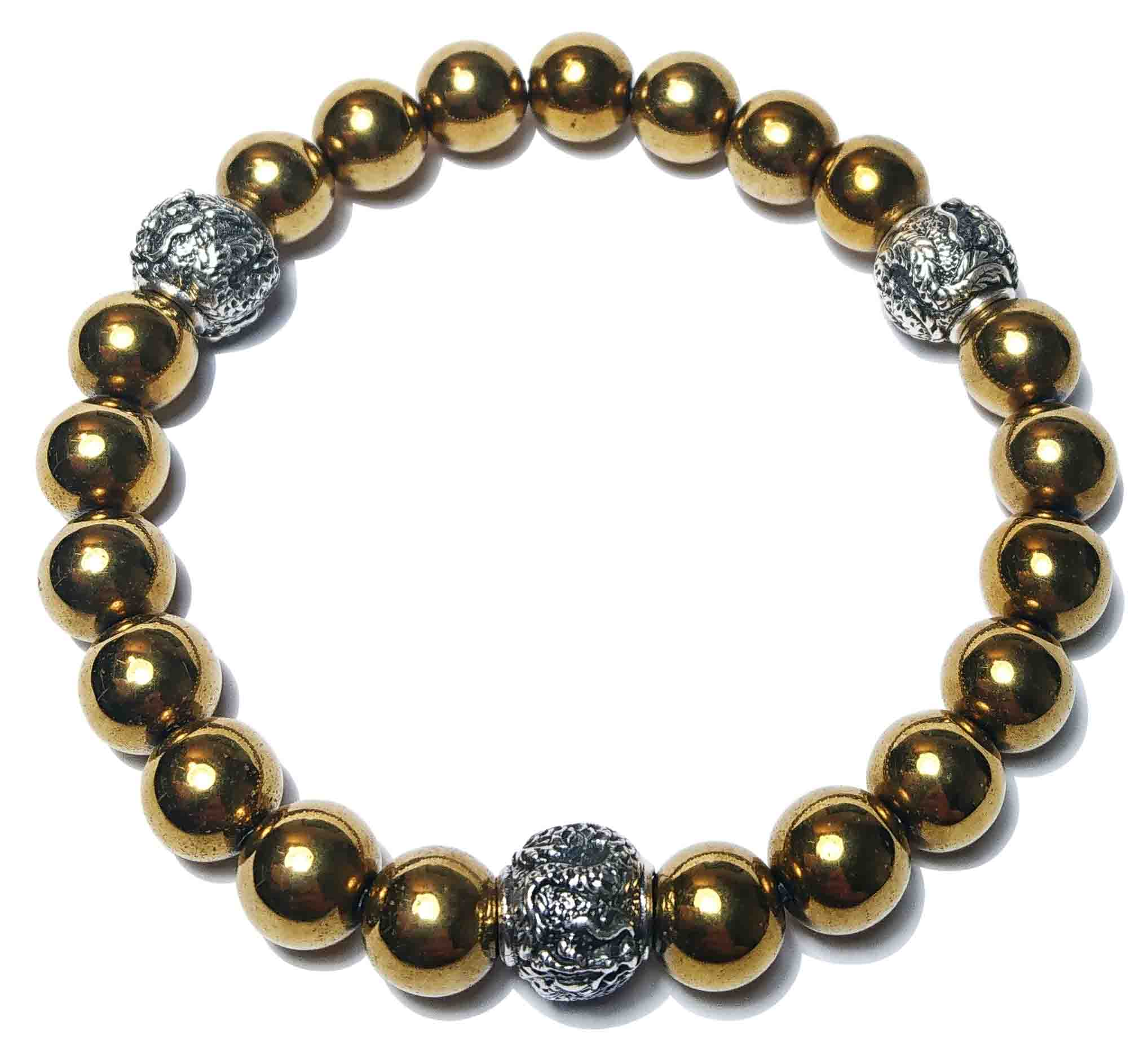 BEHERO Designer Armband Shenlong (gold)