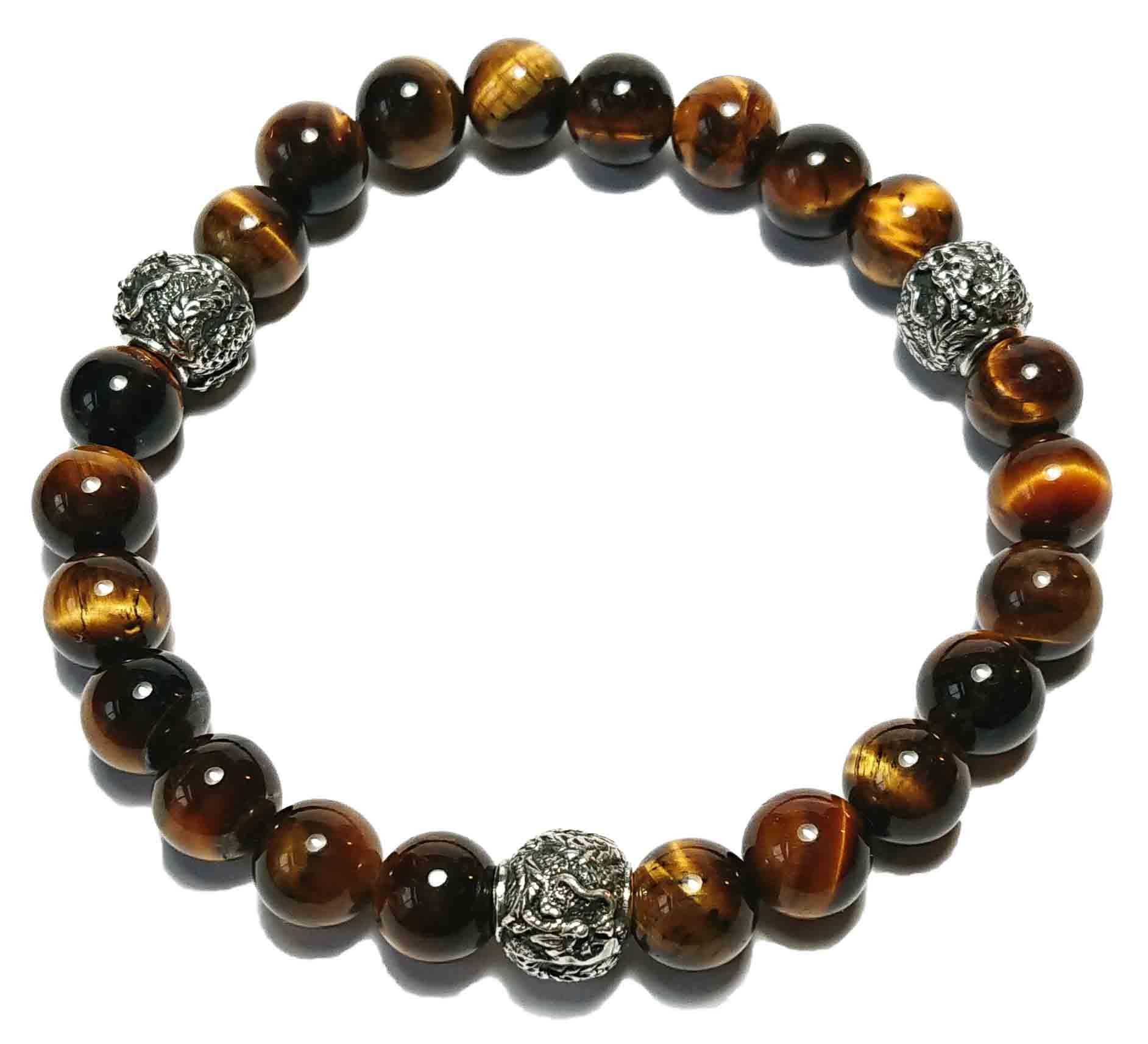 Shenlong (Tigerauge) Armband