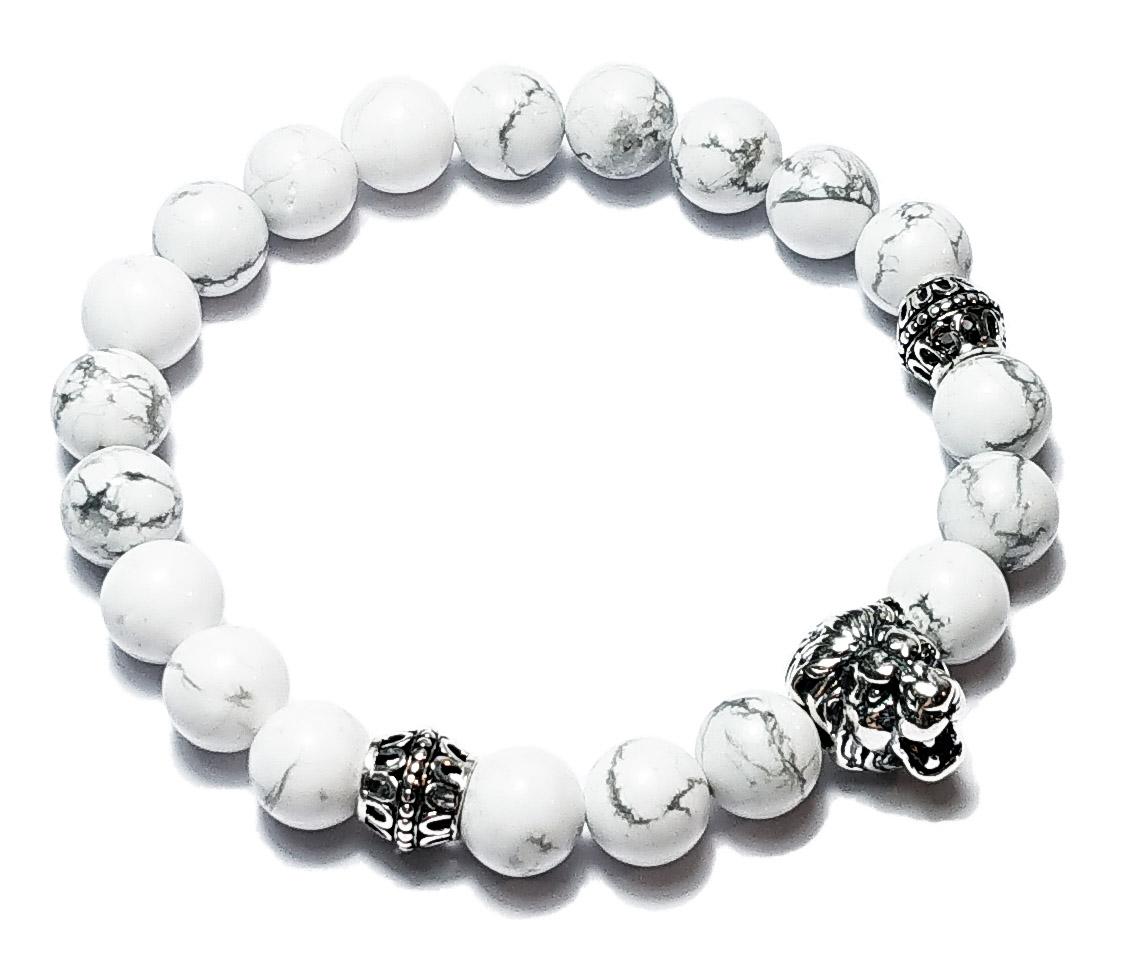 BEHERO Lion (weiß) Armband