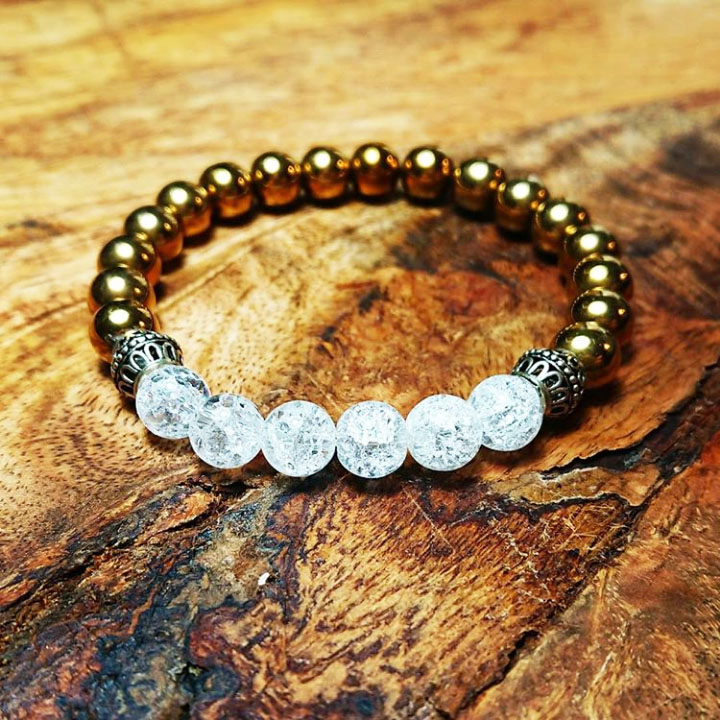 BEHERO Designer Armband Comet (gold)