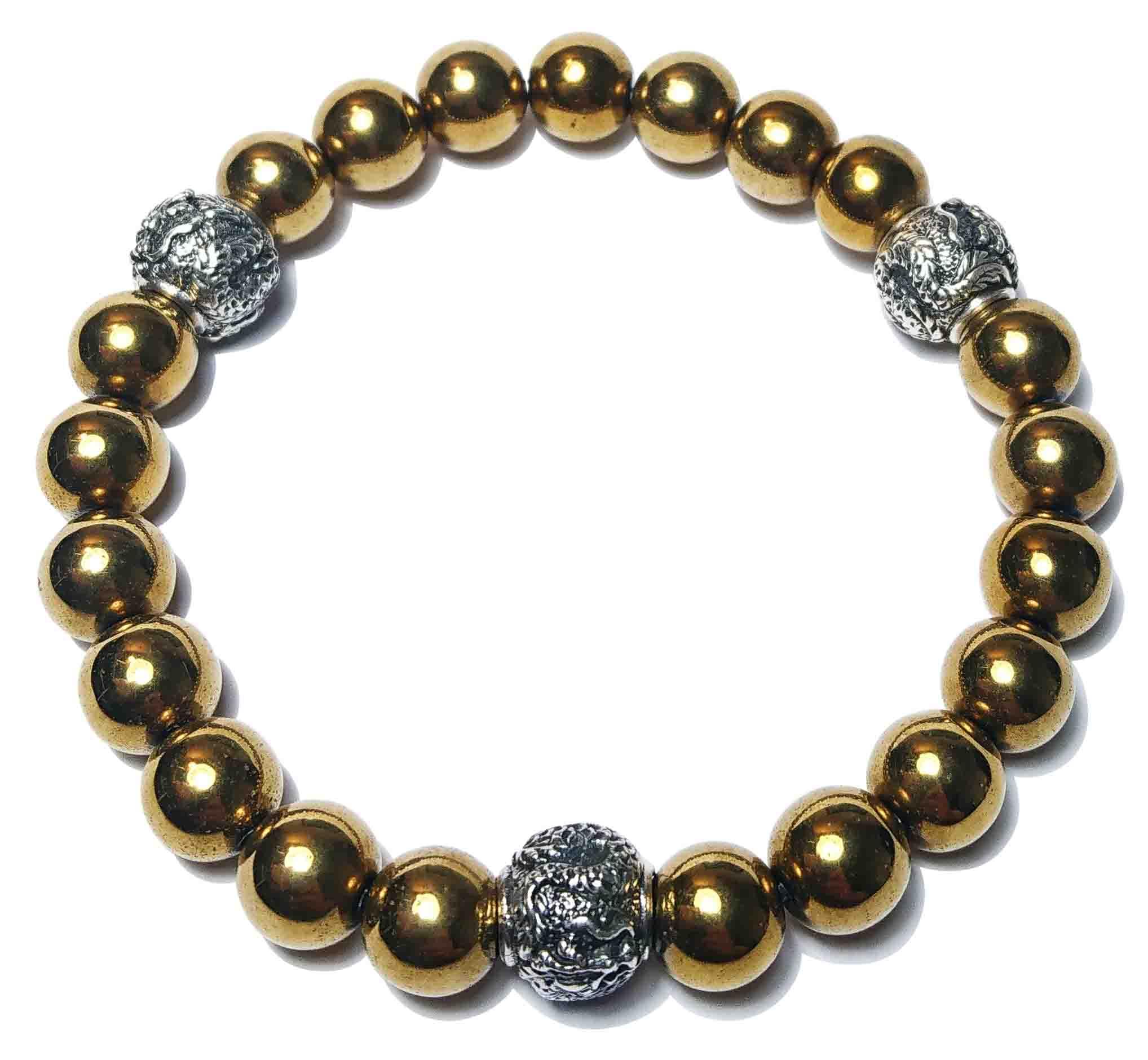 Shenlong (gold) Armband