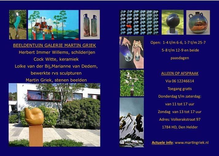 Beeldentuin galerie Martin Griek
