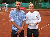 Finalist Khrolenkov und Sieger Jakunin