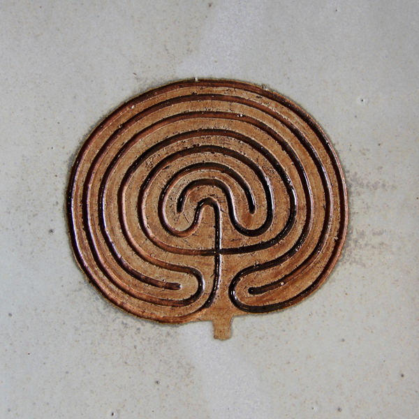 Keramik handgemacht, Labyrinth