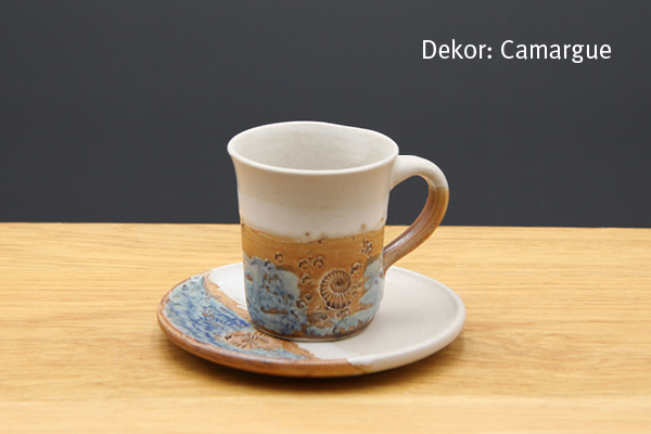 Keramik Espresso Gedeck Camargue