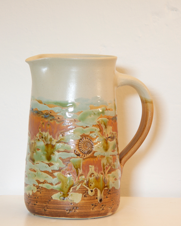Keramik, Krug Dekor Neuseeland