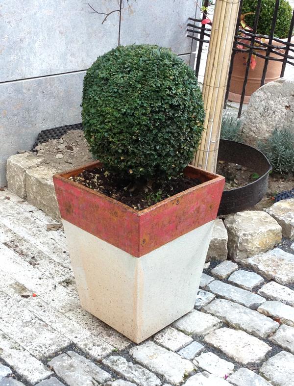 Keramik frostfest, Pflanztöpfe zum direkt bepflanzen oder als Übertopf, in verschiedenen Größen