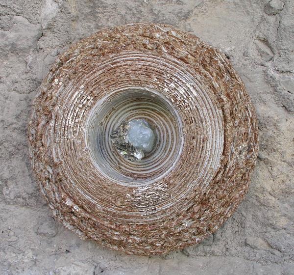 Keramik Aquamarin ø ca. 35 cm