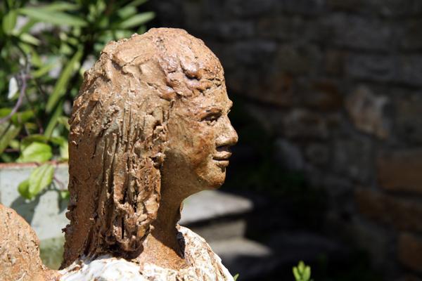 Keramik handgemacht, Engel