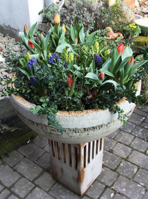 Keramik frostfest, Pflanzschale zum direkt bepflanzen oder als Übertopf, in verschiedenen ø machbar