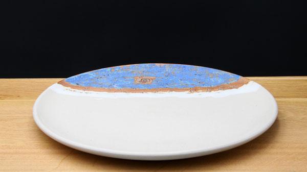Speiseteller ø ca. 26,5 cm Dekor Santorin