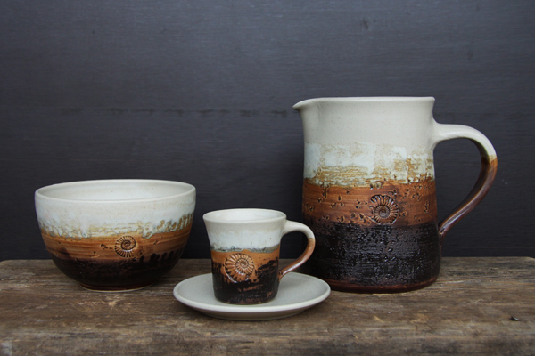 Keramik, Krug Dekor Basalt, Espressogedeck