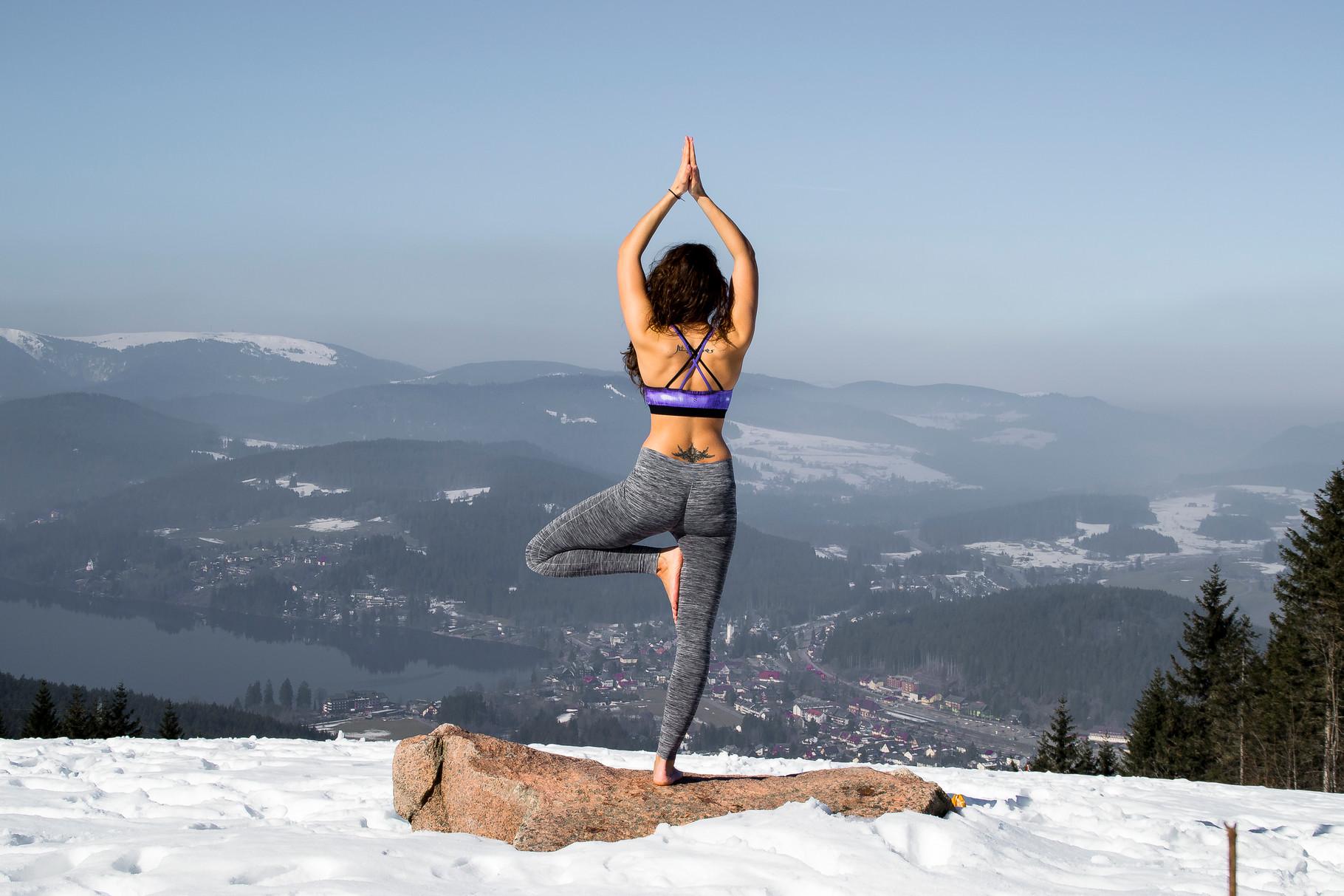 Yoga am Hochfirstturm