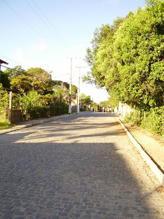 Straße am Strand