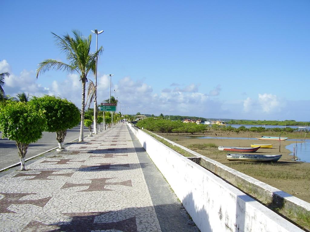 Promenade in Cabrália