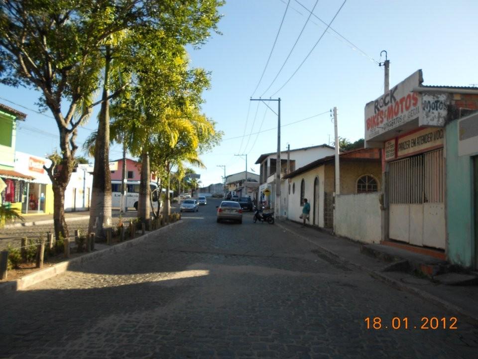 Zentrum des Dorfes