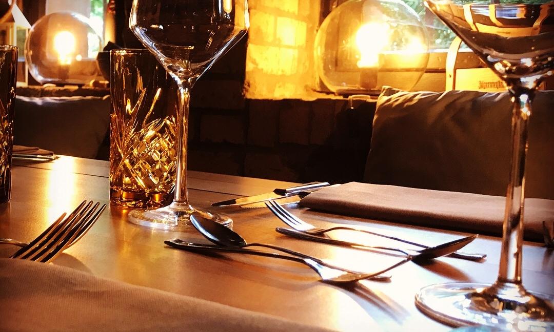 Der Weinkeller des StegHaus Restaurants.