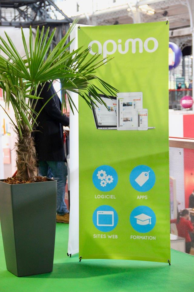 Location de plantes pour un salon immobilier à Paris