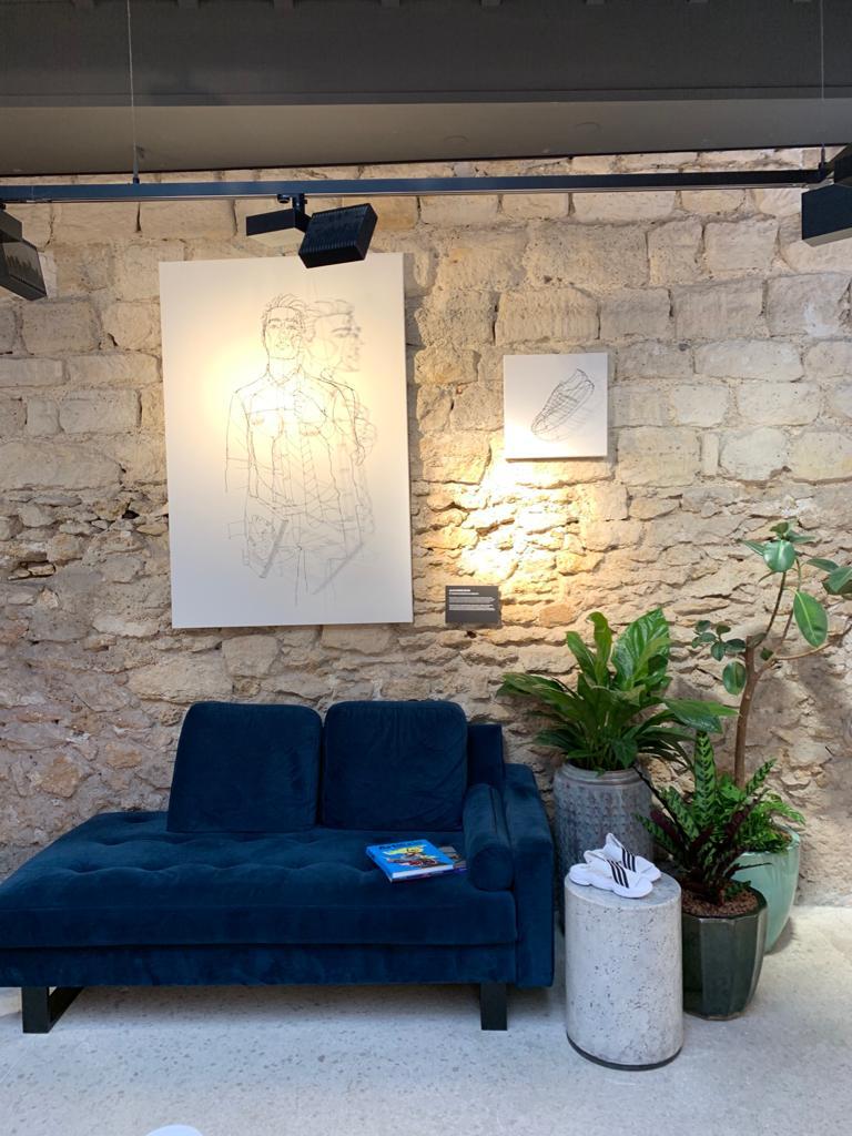 Entretien et location de plantes pour ce magasin de vêtement du Marais à Paris