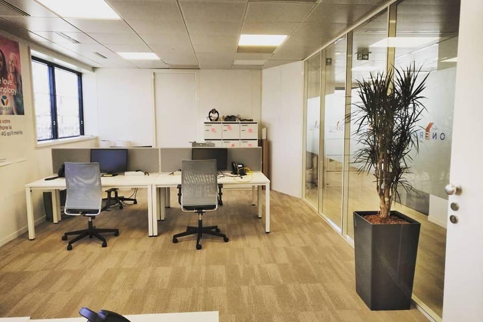 Paysagiste d'intérieur: location de plantes pour ces bureaux de Vélizy