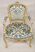 Retapisser fauteuil louis XV à Paris
