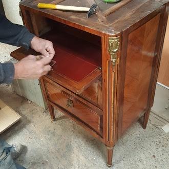 Restauration de meubles ancien