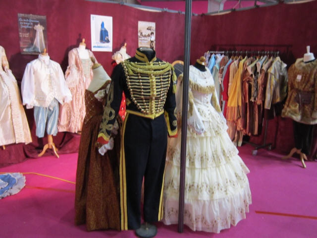 Costume second empire salon fous d'histoire Pontoise 2011